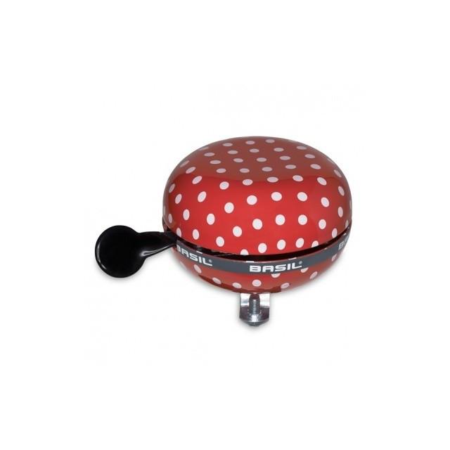 BASIL Polka Dots red/wht
